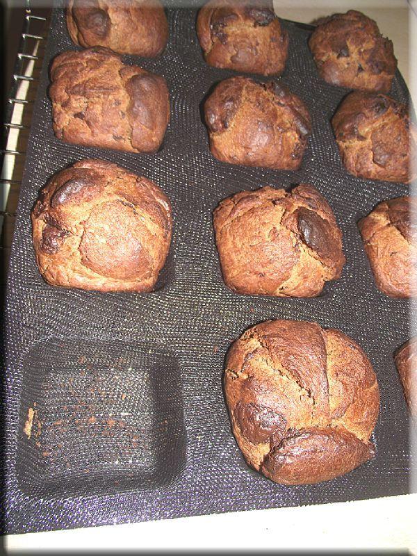 Briochettes au chocolat annso-cuisine.fr AnnSo Cuisine