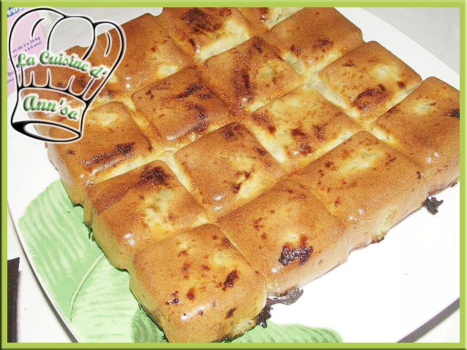 Moelleux à la rhubarbe annso-cuisine.fr AnnSo Cuisine