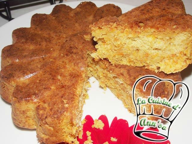 Cake aux carottes et panais Carrot Cake annso-cuisine.fr AnnSo Cuisine