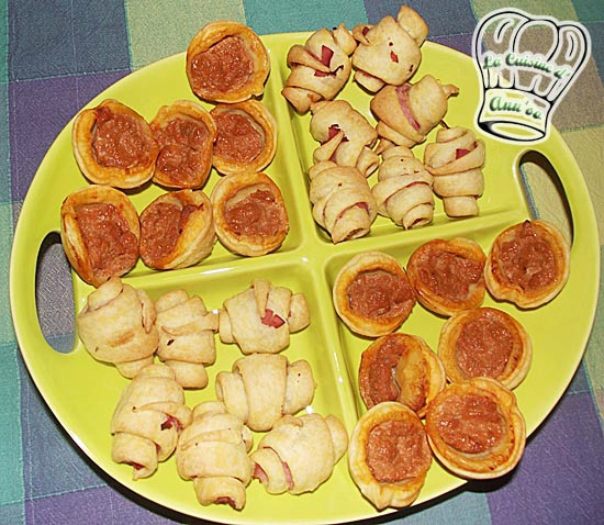 Apéritif, toasts, tartelettes, mini-quiches et autres petits croissants annso-cuisine.fr AnnSo Cuisine