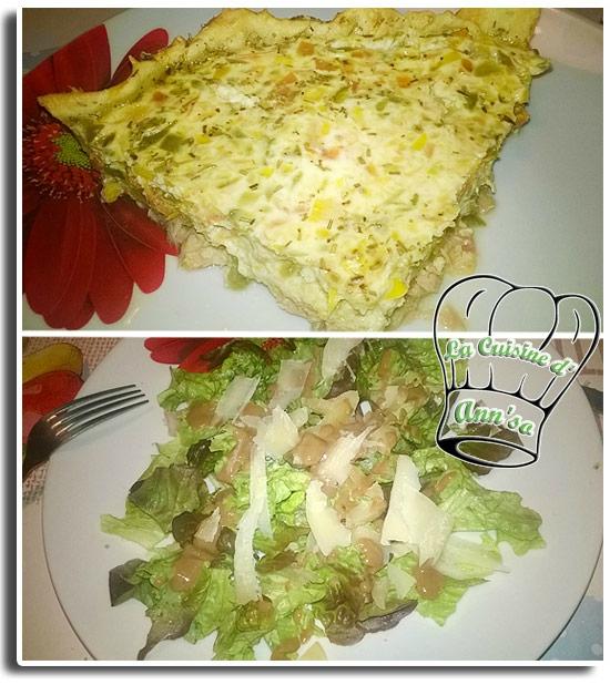 Tarte au thon façon provençale légère annso-cuisine.fr AnnSo Cuisine