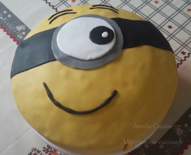 Gâteau Minion Stuart Bob Kevin AnnSo Cuisine