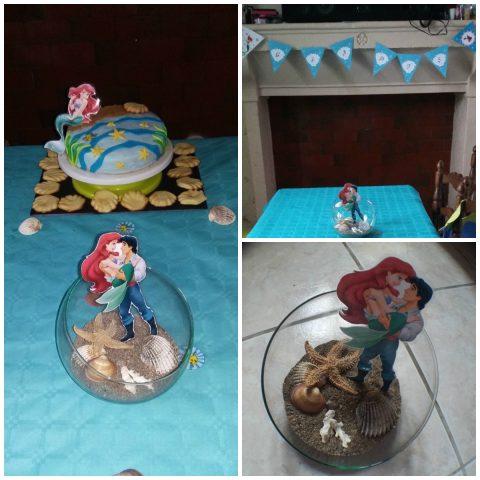 Décoration anniversaire Ariel la petite sirène