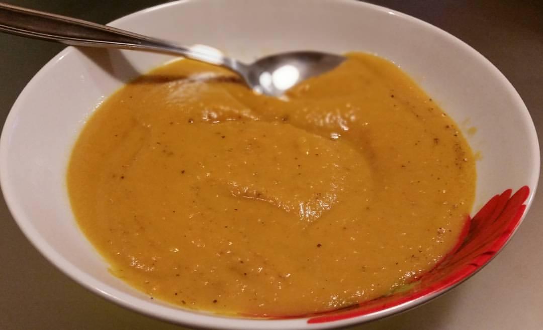 soupe de patate douce au curry et lait de coco annso cuisine cie. Black Bedroom Furniture Sets. Home Design Ideas