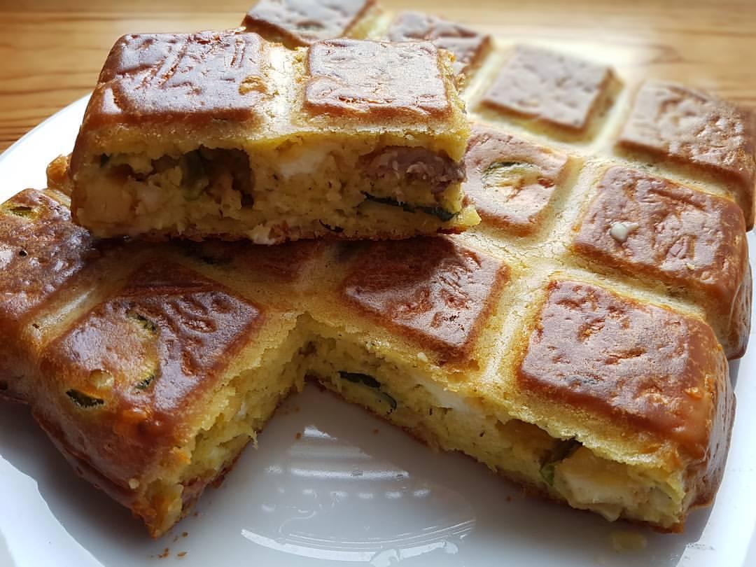 Cake Courgette Chevre Weight Watchers