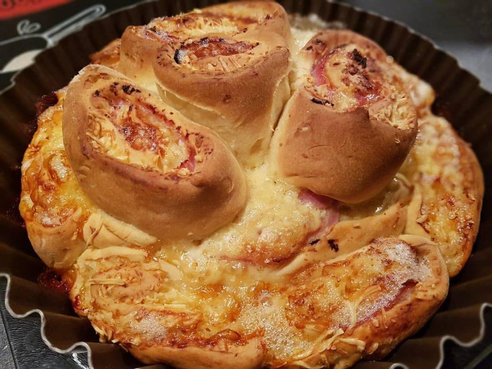 Chinois salé au camembert et jambon