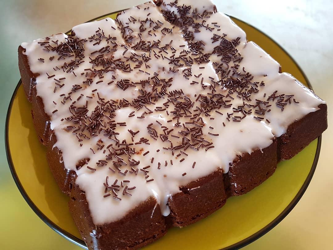 Gâteau fondant au chocolat et à la noisette   AnnSo ...