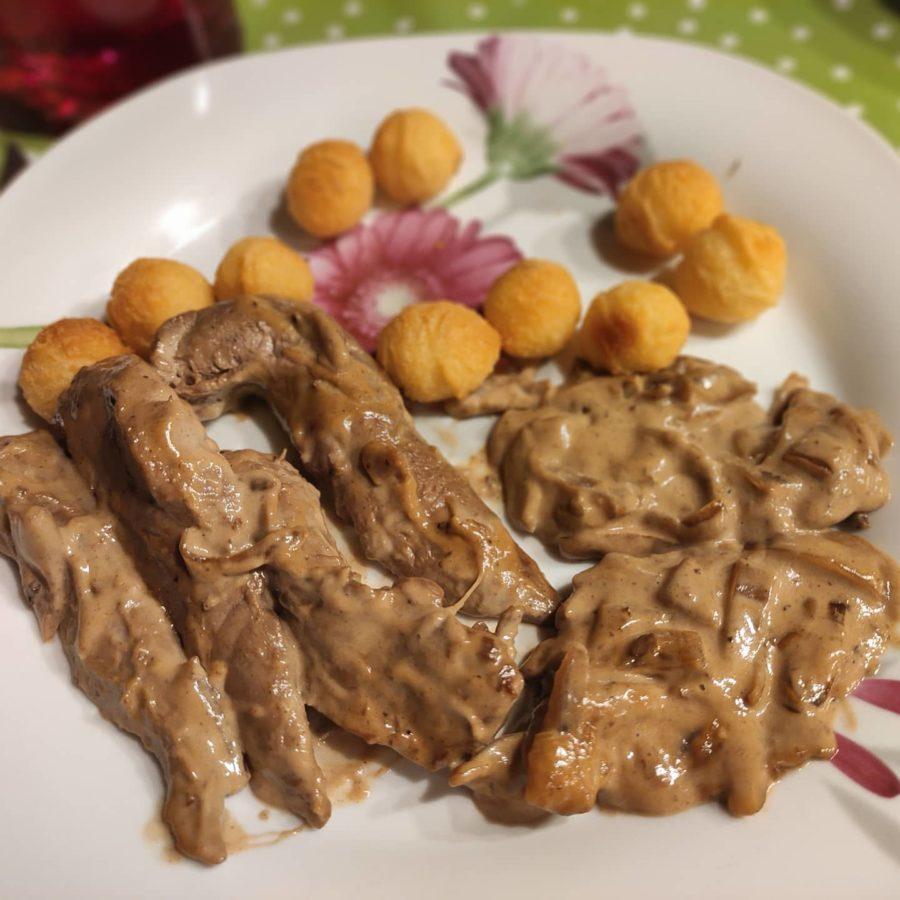 Aiguillettes de canard sauce balsamique